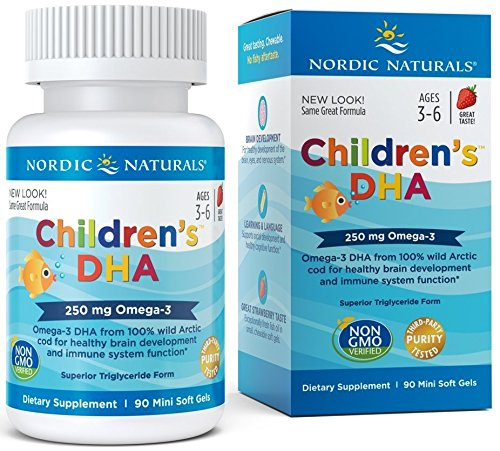 Nordic Naturals - Children's DHA, Healthy Cognitive Development and Immune...