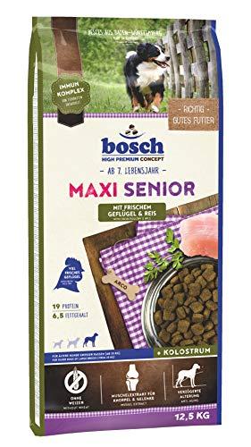 bosch HPC Maxi Senior mit frischem Geflügel & Reis | Hundetrockenfutter für...