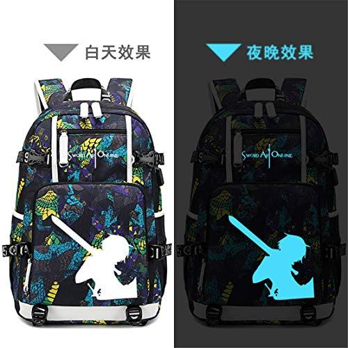 Tauras Anime Sword Art Online Cosplay Rucksack Student Daypack Laptoptasche...