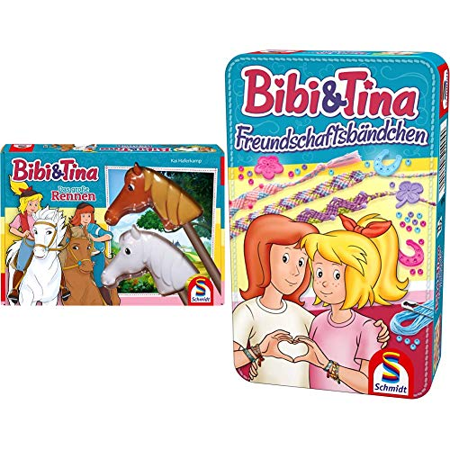 Schmidt Spiele 40577 - Bibi und Tina, Das große Rennen & Bibi & Tina 51404 Bibi...
