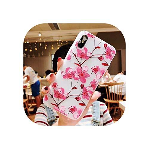 Wild-lOVE 3D-Blumen-Schutzhülle für Samsung Note 9 S9 S10 S8 Plus J7 J8 J2...