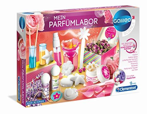 Clementoni 59070 Galileo Science – Mein Parfümlabor, wohlriechende Düfte und...