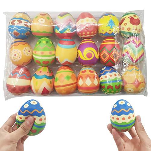 MAOJIE 18 Stück/Set Jumbo Langsam aufsteigende Eier Bunte Langsam aufsteigende...