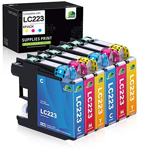JARBO LC223 Kompatibel für Brother LC-223 LC223 XL Farbe Druckerpatronen für...