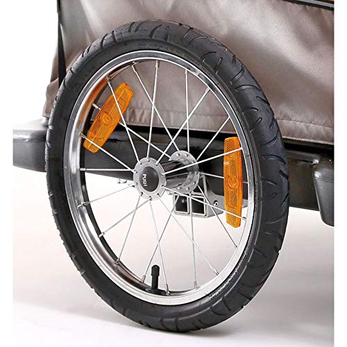 Croozer Unisex– Erwachsene Laufrad-3092015814 Laufrad, schwarz, One Size