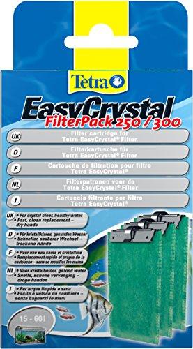 Tetra EasyCrystal Filter Pack 250/300 Filterpads, 3 Stück