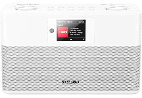 Kenwood CR-ST100S-W - SmartRadio mit DAB+, UKW, WLAN Internetradio, USB, Spotify...