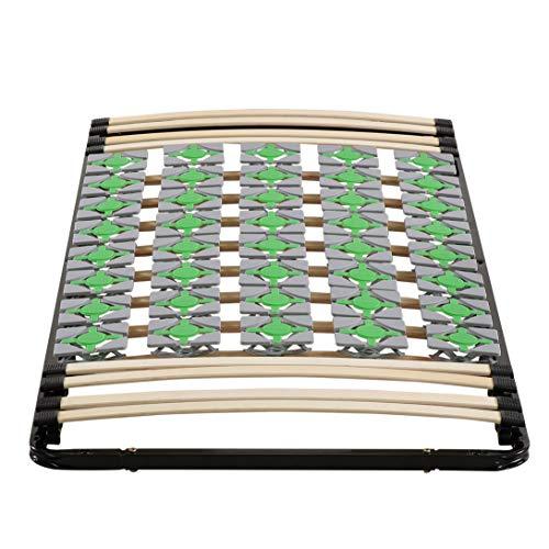 i-flair Lattenrost 90x200 cm Lattenrahmen Tellerlattenrost Ergo IF56 - für alle...