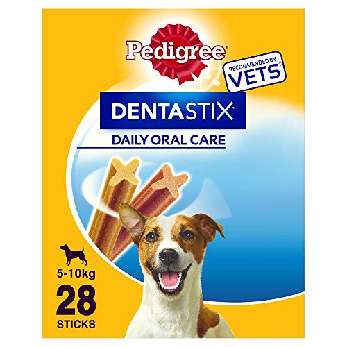 Pedigree Hundesnacks Hundeleckerli Dentastix Mini Tägliche Zahnpflege für...