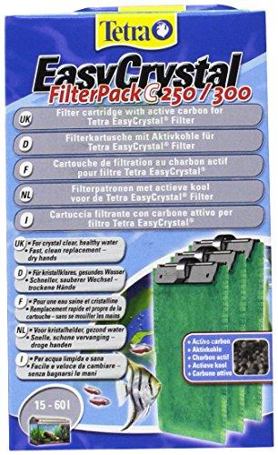 Tetra EasyCrystal Filter Pack C250/300 (Filtermaterial mit Aktiv-Kohle,...