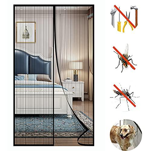 SYC Fliegengitter Tür Insektenschutz Magnet Fliegenvorhang - Kinderleichte...