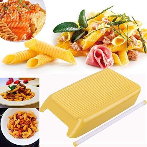 Hahuha Hersteller rollt, Pasta Macaroni Board Spaghetti Gnocchi Maker Nudelholz...