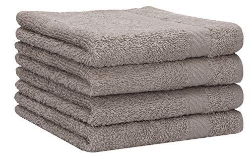 Betz 4 Stück Duschtücher Set Palermo Größe 70x140 cm 100% Baumwolle Badetuch...