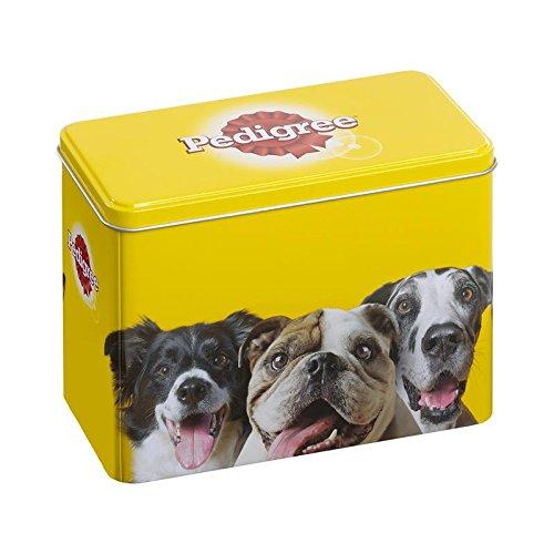 Pedigree Jubiläumsbox, Snackbox zum Aufbewahren von Hundeleckerlies und -Snacks