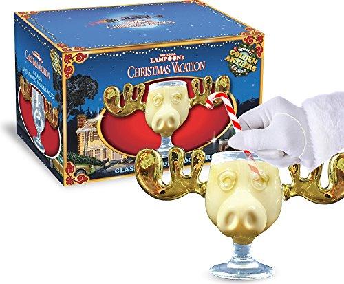 Moose Mug Elchglas mit goldenem Geweih 0,2 Liter Füllmenge offiziell...