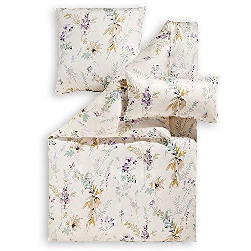ESTELLA Bettwäsche Mariella   Lavendel   135x200 + 80x80 cm   bügelfreie...