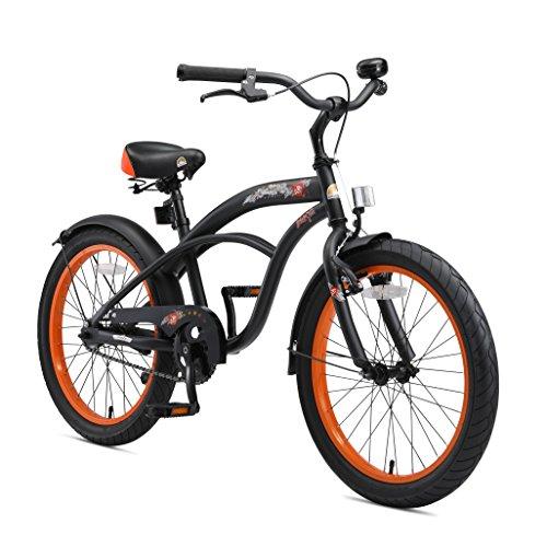 BIKESTAR Kinderfahrrad für Jungen ab 6-7 Jahre   20 Zoll Kinderrad Cruiser  ...