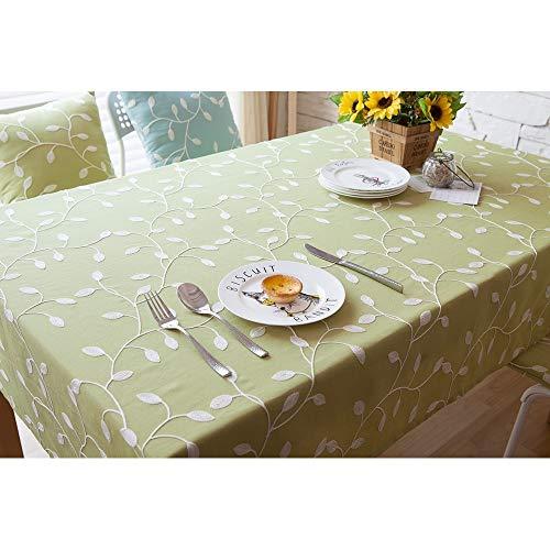 Hintergrundbild Gestickte Tischtuch Polyester-Baumwoll-Stoff Couchtisch Tuch...