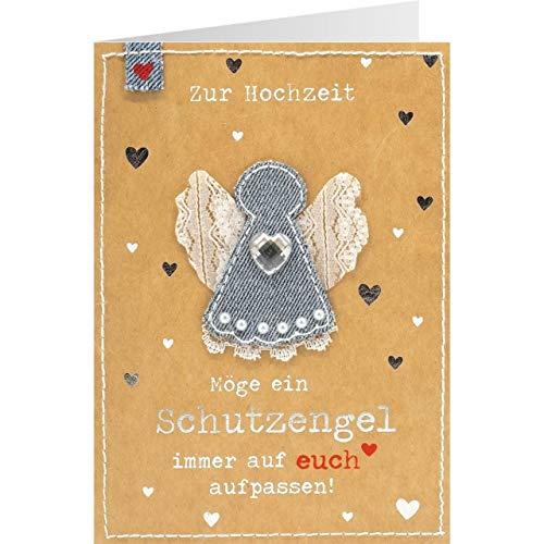 Sheepworld, Gruss und Co. - 90770 - Klappkarte, mit Umschlag, Jeans, Nr. 38, Zur...