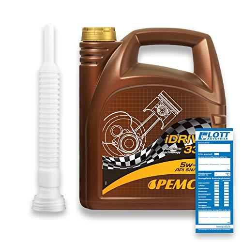 Pemco 5L iDRIVE 338 5W-40 Motoröl 502.00/505.00 229.1 RN 0700 Öl +...