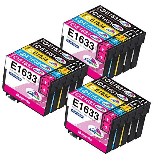 Kingway 16XL Ersatz für Epson T1631 XL 16XL 16 XL 163XL Druckerpatronen für...
