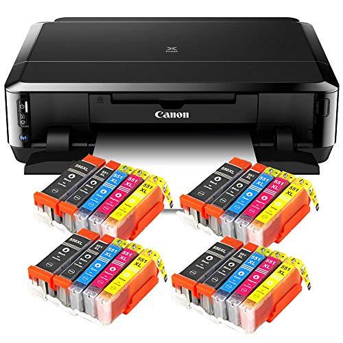 Canon Pixma iP7250 mit WLAN, Fotodrucker und CD-Bedruck, Auto Duplex Druck...