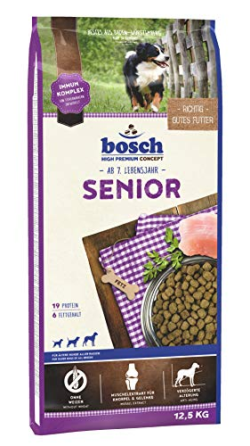 bosch HPC Senior | Hundetrockenfutter für ältere Hunde aller Rassen, 1 x 12.5...