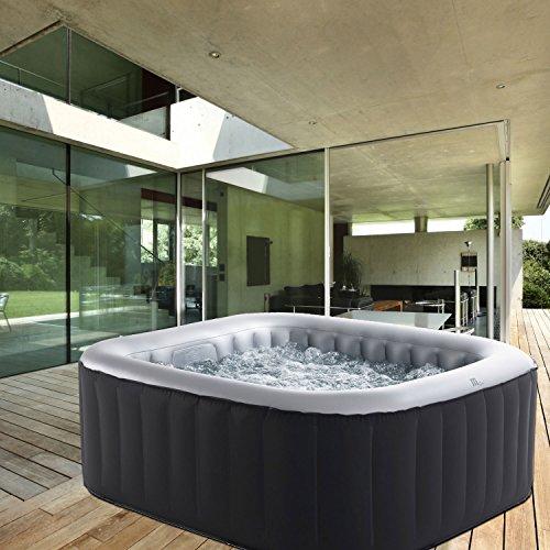 Whirlpool MSpa aufblasbar für 4 Personen 158x158cm In-Outdoor Pool 108...