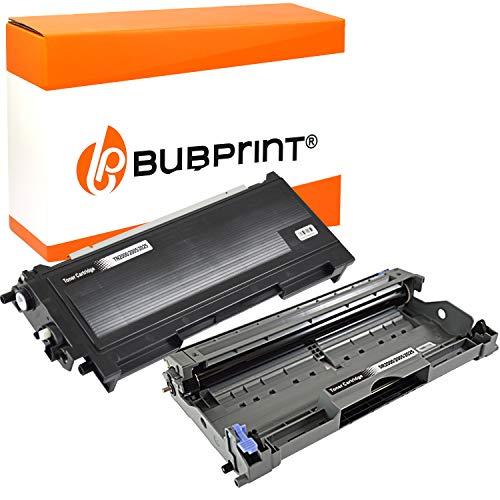 Bubprint Toner und Trommel kompatibel für Brother TN-2000 DR-2000 für DCP-7010...