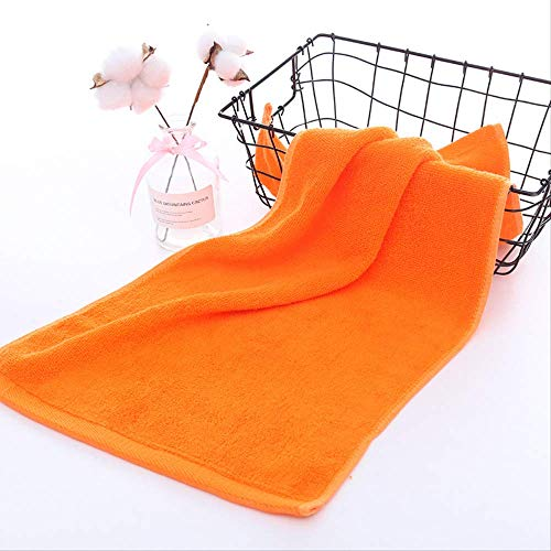 haotu Badetuch Baumwolltuch Soft Absorbent Towel 34 * 74Cm Orange