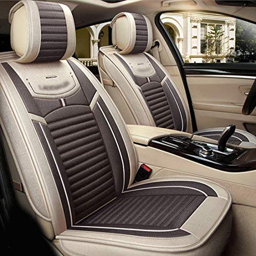 ZJIAWEI Auto-Sitzabdeckung, Air Bag Kompatibel Bequeme und verschleißfeste...