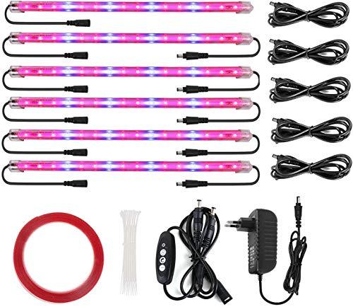 Roleadro LED Pflanzenlampe Pflanzenlicht 60w Pflanzenleuchte mit Timer 3H/6H/12H...