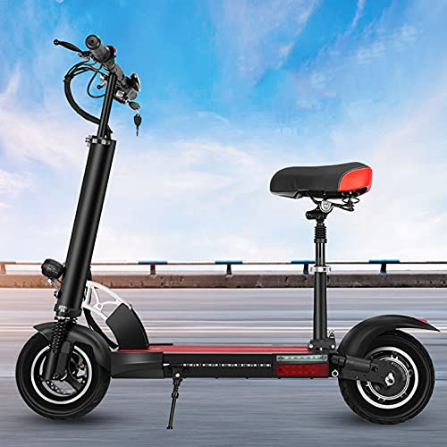 qwert Off Road Electric Scooter,Faltbares Aluminium E-Scooter,Doppelbremse...