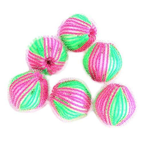 Haarball Für Waschmaschine - 6pcs / Pack Fusselbälle Waschmaschine , Gegen...