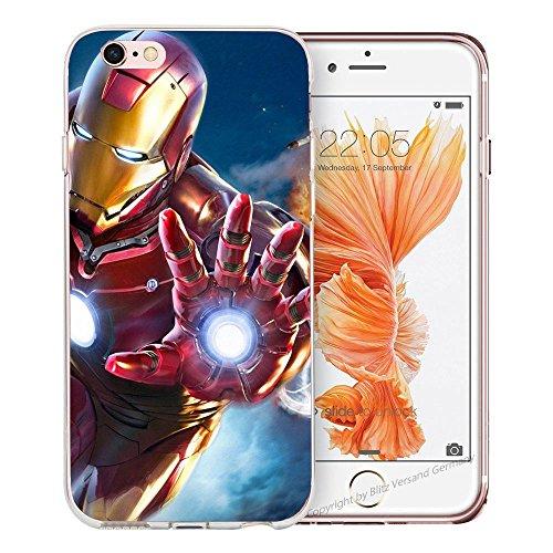 Handyhülle Helden Avengers Marvel kompatibel für Samsung Galaxy S6 Edge Full...