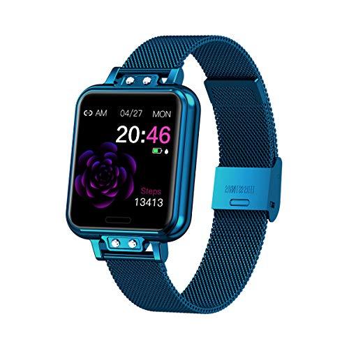Aliwisdom Smartwatch für Damen Kinder, 1,22 Zoll Fashion Smartwatch Fitness Uhr...