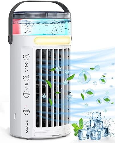 Mobile Klimageräte, Manwe 5 IN 1Klimaanlage Mini Luftkühler Tragbare USB...