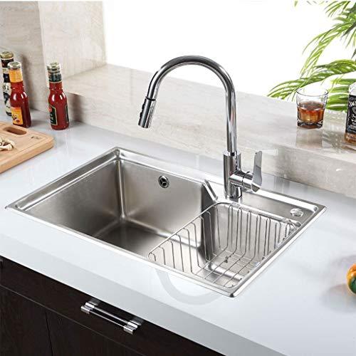 SSBH-Küchenspülen Küche mattierte Oberfläche Edelstahl-Wannen-Mute...