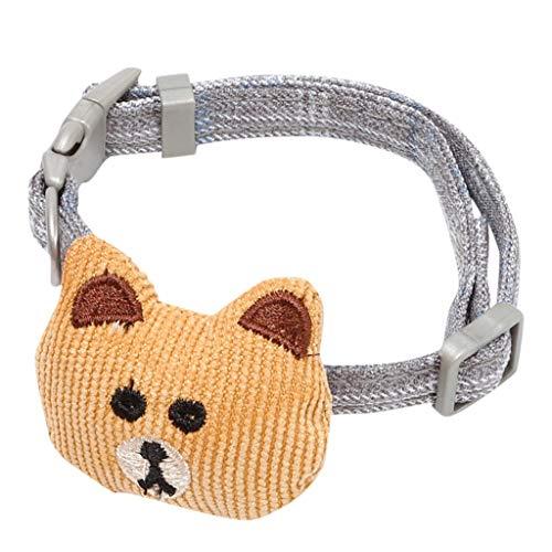 Yowablo Hundehalsung Hund Halskette Halsung Alu-Strong Würgehalsbänder...