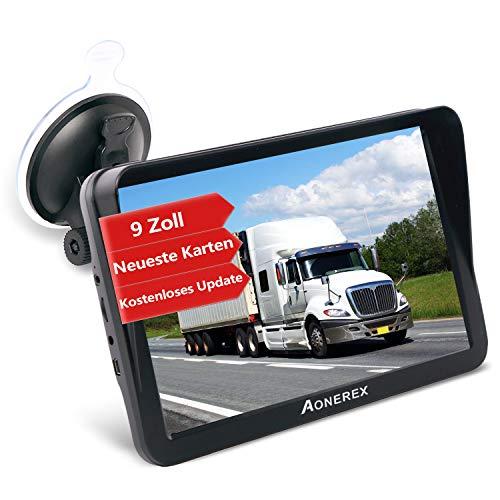 GPS Navi Navigation für Auto LKW PKW Aonerex 9 Zoll Navigationsgerät mit...