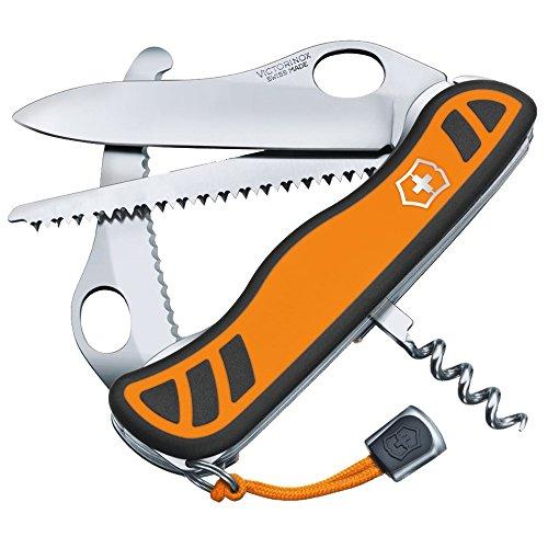 Victorinox Taschenmesser Hunter XT Grip (6 Funktionen, Feststellbare Waidklinge,...