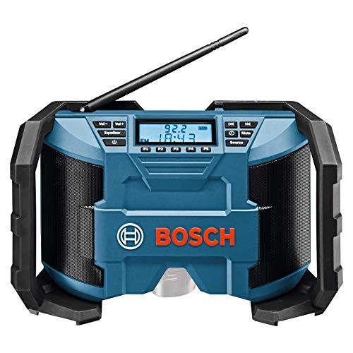 Bosch Professional 12V System Akku Baustellenradio GPB 12V-10 (3,5mm AUX Kabel,...