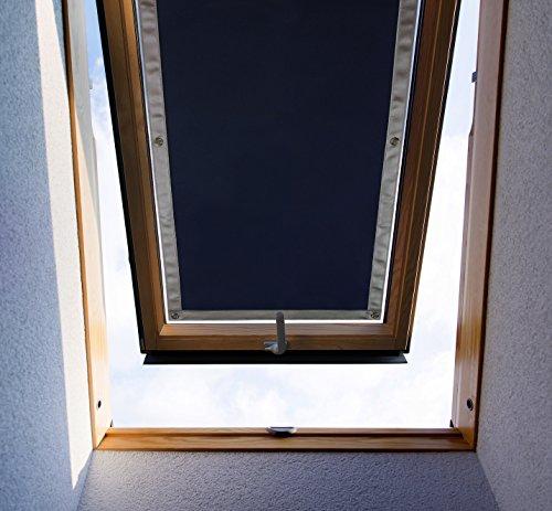 Purovi Thermo Sonnenschutz für Dachfenster | Hitzeschutz für Innen | ohne...