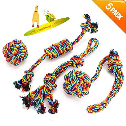 VIEWLON Hundespielzeug Seil,Tau Hund Spielzeug,Hund Seil Spielzeug...