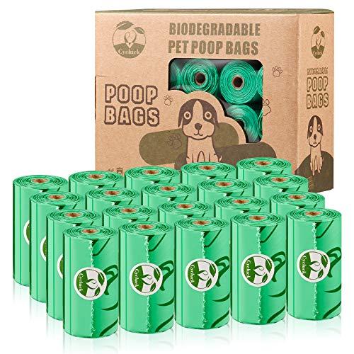 Cycluck Biologisch abbaubare 300 Beutel Hundekotbeutel aus Maisstärke Mischung...