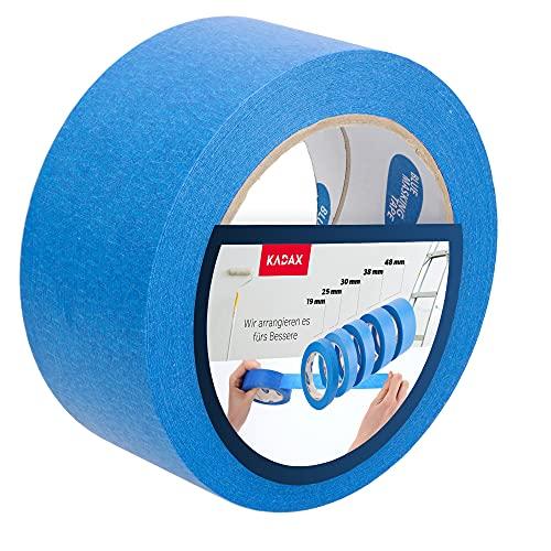KADAX blaues Malerband, 50m, Schutzband, Blue Tape, Malerkrepp, Kreppband,...