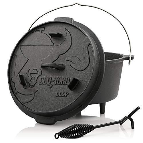 BBQ-Toro Dutch Oven Premium Serie I bereits eingebrannt - preseasoned I...