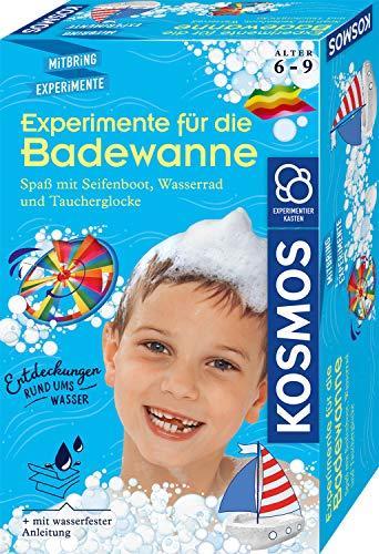 KOSMOS 657833 Experimente für die Badewanne, Experimentier-Spaß mit...