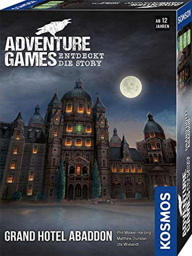 KOSMOS 693190 Adventure Games - Grand Hotel Abaddon. Entdeckt die Story,...