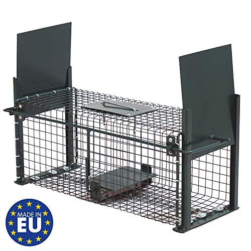 Moorland Safe 5006 Lebendfalle 50x18x18cm als stabile Marder-Falle,...